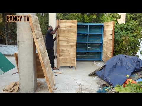 How to build a pigeon breeding loft | New design pigeon house