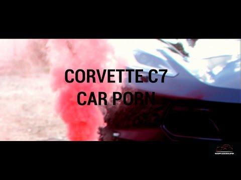 Corvette C7 Z06// CarPorn // Pyroraucheffekt
