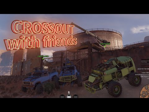 Crossout   Free Fun Friday #2   Crossout With Friends