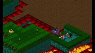 Lemmings Paintball Walkthrough (Part 19) Mayhem Difficulty - Level 22 (Final Level)