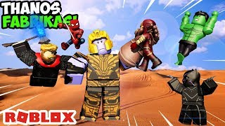💥IBUILDTHE AVENGERS 💥 / 4 Player Super Hero Tycoon / Roblox English