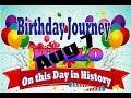 Birthday Journey August 7 New