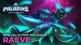 Paladins - New Legendary Collection - Raeve Maeve