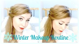 * Winter Makeup Routine * Thumbnail