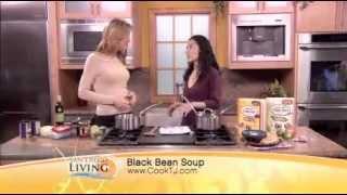 Easy Gluten Free Back Bean Soup Recipe, Using Trader Joe's Ingredients