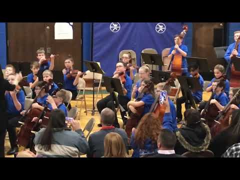 2018-12-05 Willetts Middle School 6th grade Orchestra concert
