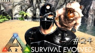 ARK: Survival Evolved - NEW MESOPITHECUS KIBBLE TAMING & GREAT WALL !!! - [Ep 24] (Server Gameplay)