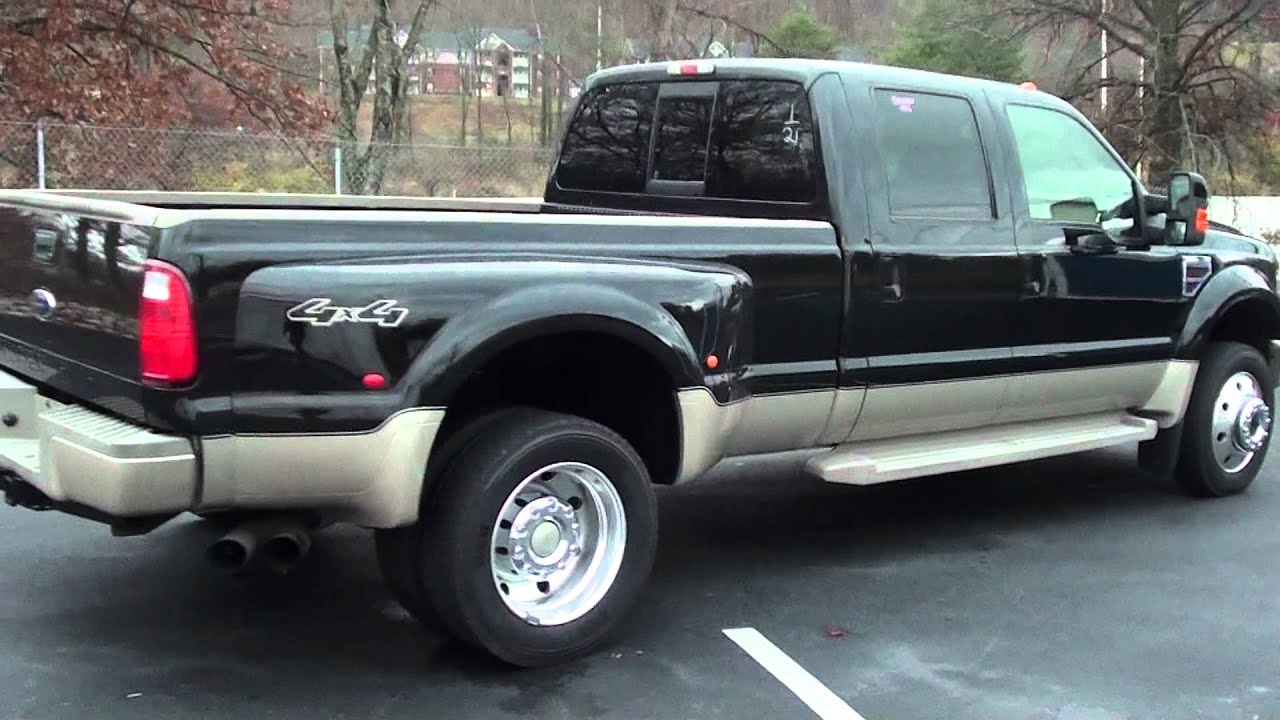 for sale 2008 ford f 450 drw king ranch 4x4 stk p5925 youtube. Black Bedroom Furniture Sets. Home Design Ideas