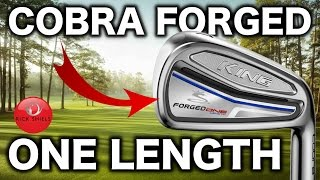 NEW COBRA KING FORGED ONE LENGTH IRONS REVIEW
