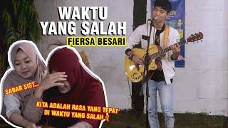Download WAKTU YANG SALAH - FIERSA BESARI (COVER) BY TRI SUAKA