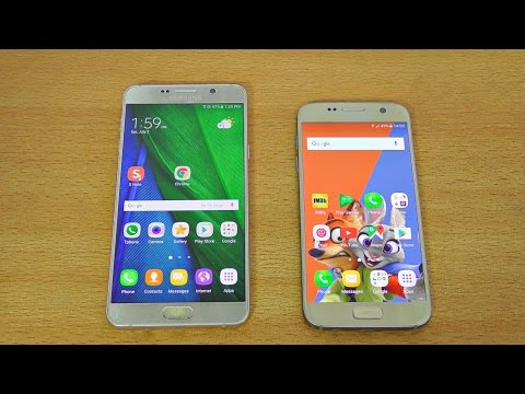 Samsung Galaxy Note 7 Grace TouchWiz UX vs Galaxy S7 Full Comparison! (4K)