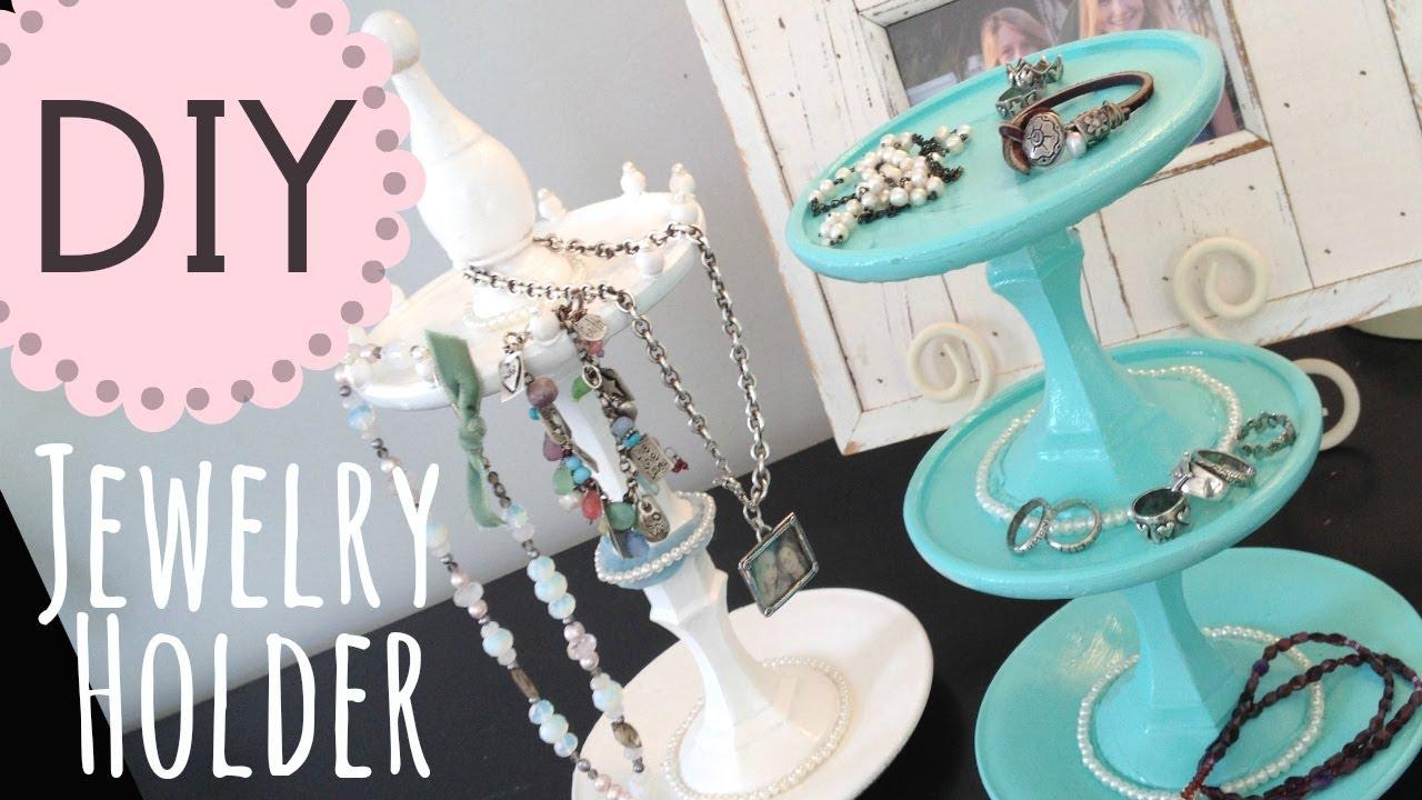 Diy Jewelry Holder By Michele Baratta Youtube