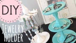 DIY Jewelry Holder by Michele Baratta