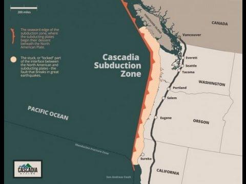 Massive FEMA  Drill June 7  to Prepare for a 9.0  Cascadia Subduction Zone Earthquake And Tsunami