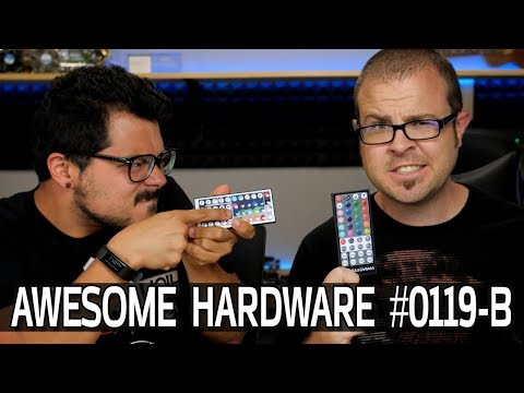 Awesome Hardware #0119-B: 7980XE Benchmarks Leaked, 8K TV, World's Most Powerful Rocket