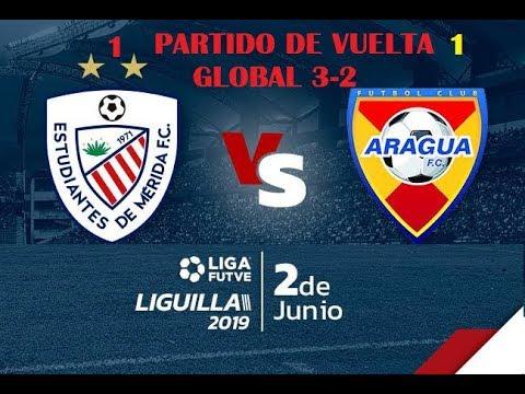 ESTUDIANTES DE MERIDA VS ARAGUA | VUELTA 02-06-219