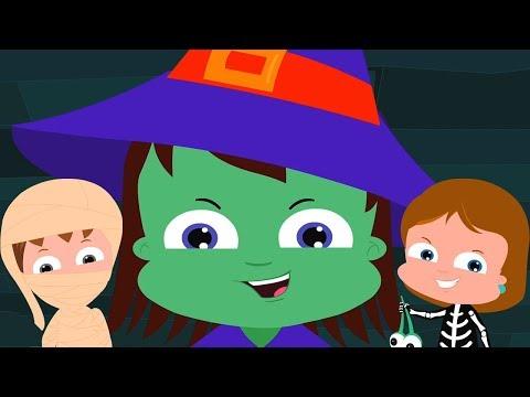 трюк или лечить | Хэллоуин песни для детей | детские стишки | Trick Or Treat | Umi Uzi Russia
