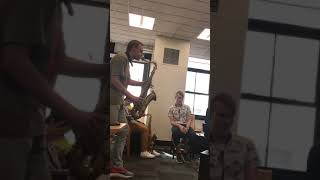 Bb Blues Art Baden solo on a jam at Manhattan School of Music