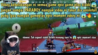 Vokey buat sejarah epic gameplay paling padu di malaysia 😱 Jangan sampai paraboy tengok video ni 😱