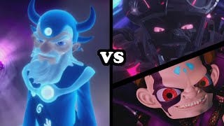 Skylanders Superchargers - Eon VS Kaos & The Darkness - ULTIMATE BATTLE