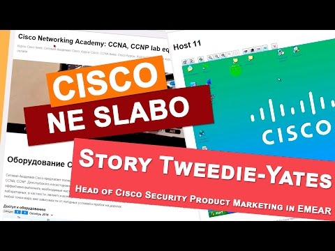Story Tweedie-Yates for students of Cisco Network Academy