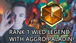 Rank 1 Legend Aggro Paladin Gameplay