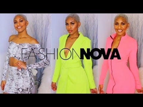 2019 Fashion Nova Try On Clothing Haul
