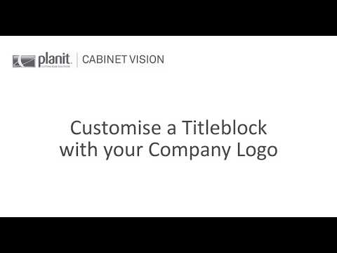 Adding a new Logo to Titleblock | Solid Essential Online