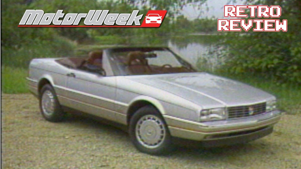 Retro Review: 1987 Cadillac Allante - YouTube