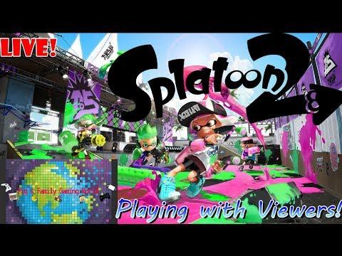 Splatoon 2 Fridays!   Live Stream #33   Splatoon 2   Join our OPEN lobby!   Googla Dualies HYPE!