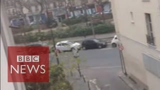 Video shows attack on Charlie Hebdo