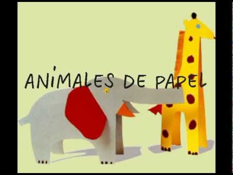 manualidades para ni os animales de papel youtube