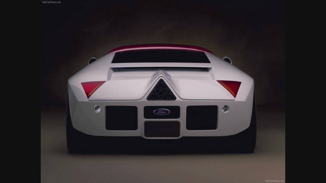 1995 ford gt90 concept w video