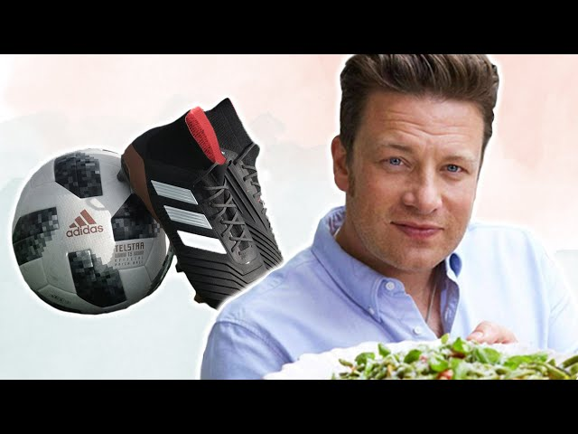 Jamie Oliver Cooks For Vegan Football Team and David Attenborough Calls For Reduced Meat Consumption