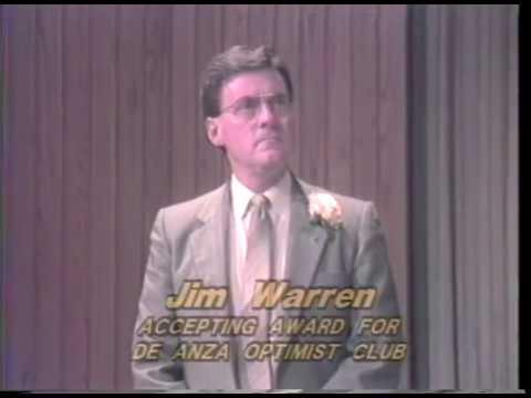 Cupertino Civic Service Awards 1987