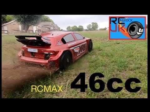 MCD 46cc rcmax RALLY car!