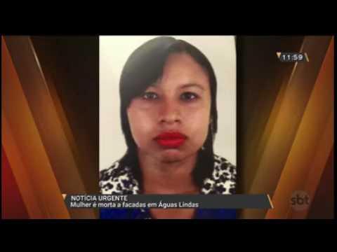 Mulher é morta a facadas em Águas Lindas