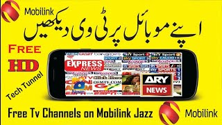 Jazz New Channel Link Added   Easily Watch Free Tv On Mobilink Jazz