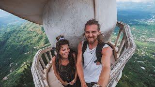 EINFACH KRASS - Wir klettern auf den verrücktesten Tempel in Sri Lanka