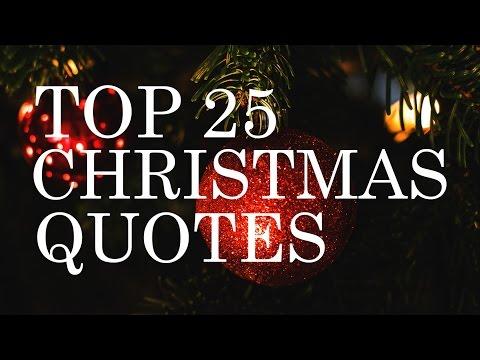 Top 25 Christmas Quotes | Beautiful & Inspiring