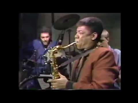 Clarence Clemons, David Letterman Show (5/21/85)Steve Gadd