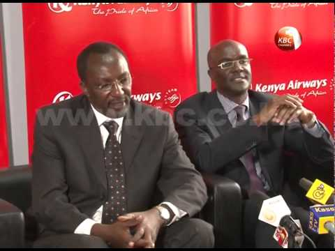 Mbuvi Nguze to replace Titus Naikuni as KQ's new CEO
