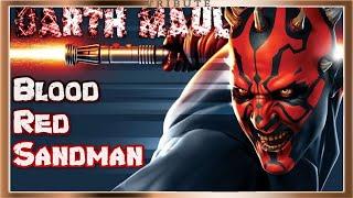Darth Maul Blood Red Sandman