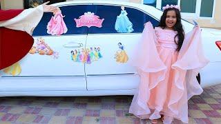 शफ़ा प्रिन्सेस पार्टी में जाने के लिए तैयार होती है।