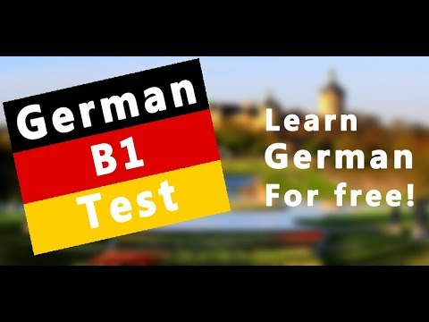 Learn German B1 Test Apps On Google Play