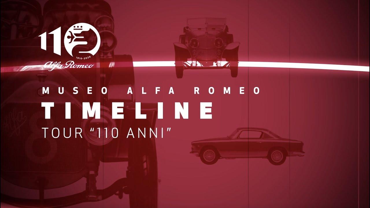 Tour 110 anni | Timeline