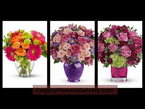 Order flowers online for same day flowers free delivery in Calgary, Alberta