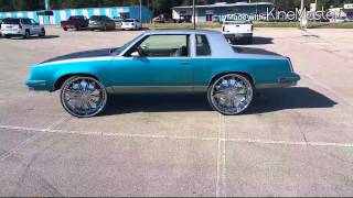 88 Cutlass Tucked On 28's Done By Florida Boy