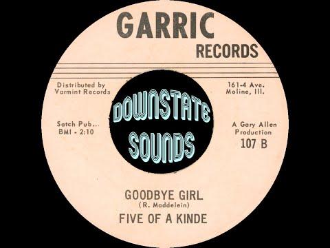 Five Of A Kinde - Goodbye Girl [Garric, 1967]