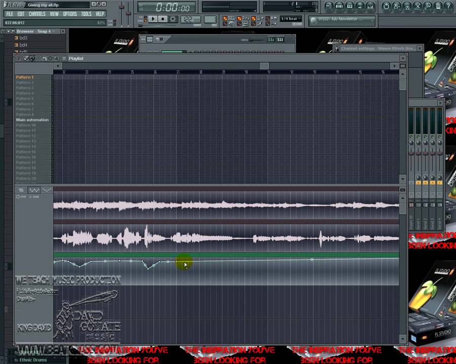 fl studio how to add automation clips to vocals effects youtube. Black Bedroom Furniture Sets. Home Design Ideas